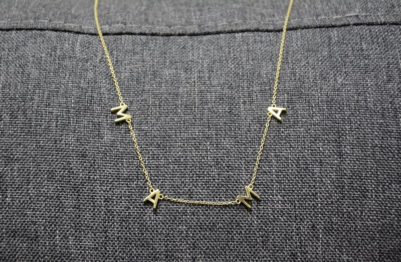 MAMA Necklace- Gold
