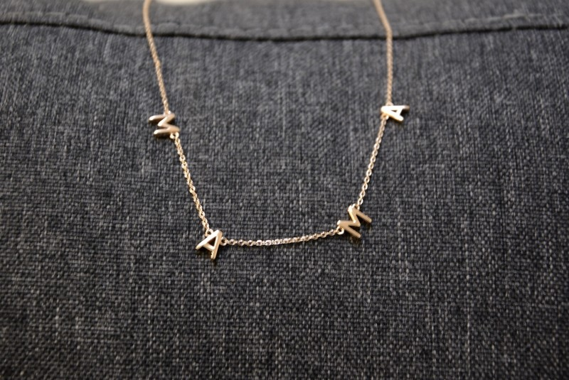 MAMA Necklace- Rose Gold