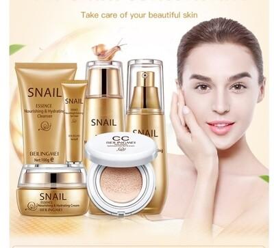 Professional mucus snail skin care set