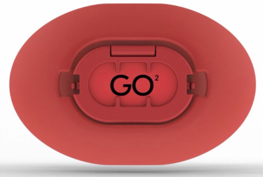 GO2 DEVICE FOR FOOTBALL WITH LIP GUARD
