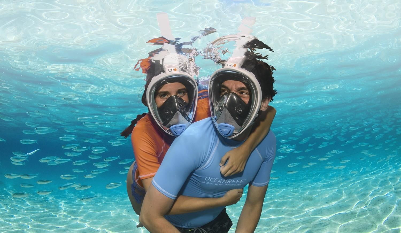 Aria Uno Vollgesicht Schnorchel Maske von Ocean Reef
