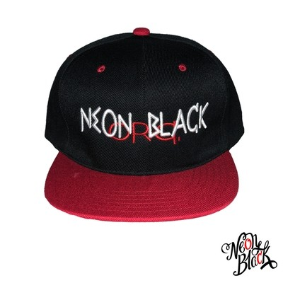 Black & Red- Neon Black Org