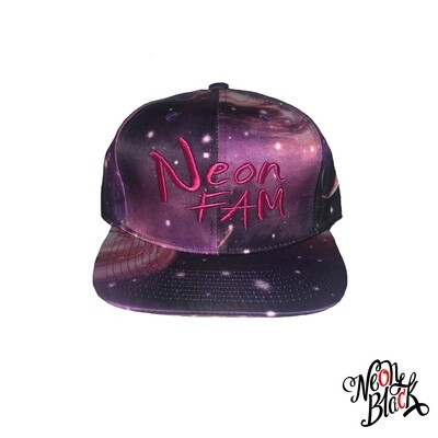Neon Fam - Purple All Over Galaxy