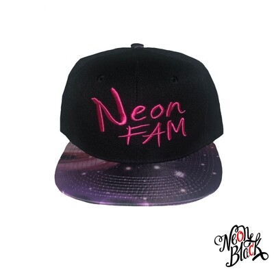 Neon Fam -  Purple Galaxy Brim