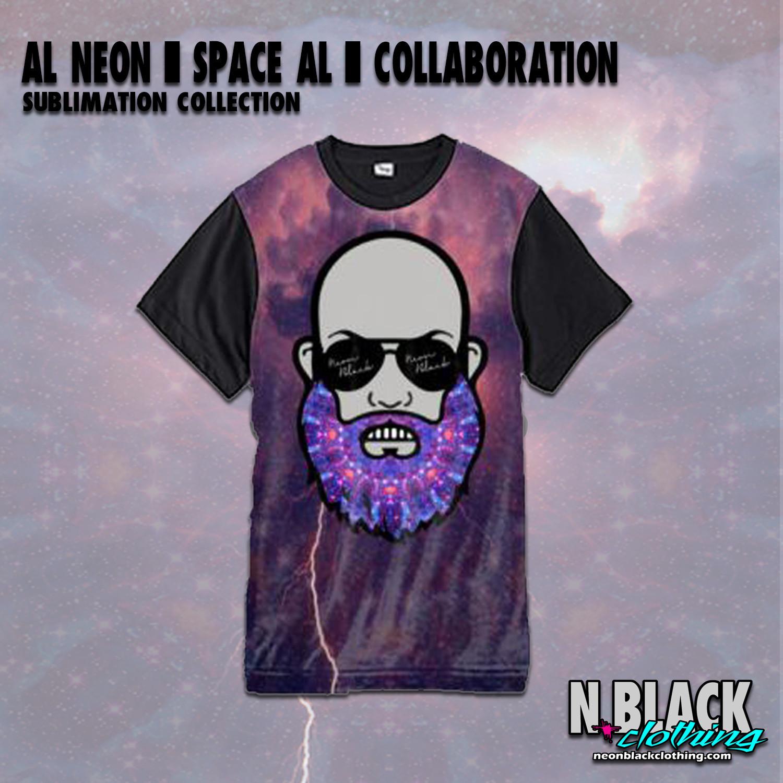 Al Neon - Space AL - Sublimation Collection #2