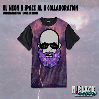 Al Neon - Space AL - Sublimation Collection #2