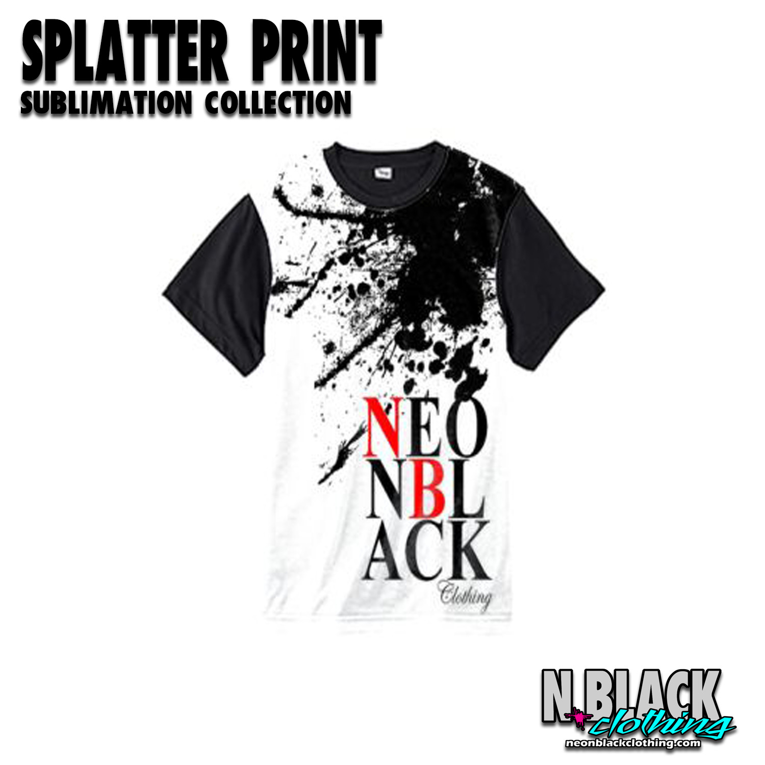 Splatter - Sublimation Collection #1