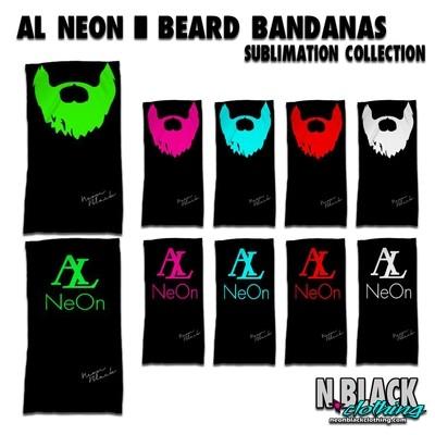 Al Neon Beard Bandanas