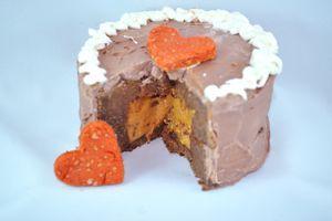 Sweet Potato and Carob Cake