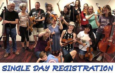 Single-Day Registration