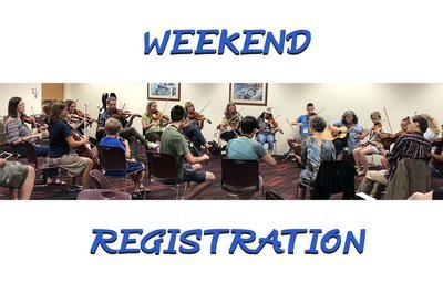 Weekend Registration (Saturday/Sunday)