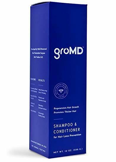 GroMD Shampoo / Conditioner 10oz with pump (Regular Price $59.99)