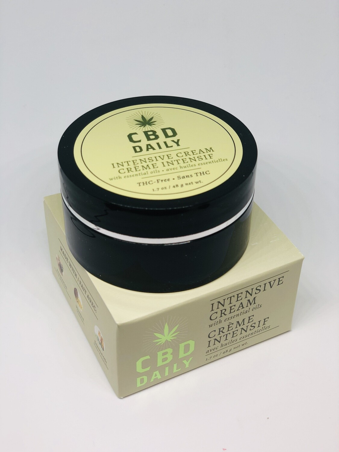 CBD Daily Intensive Cream or Soothing Serum (Regular Price $25.99)