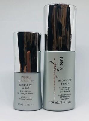 ** Kenra Blow Dry Spray 3.4oz PLUS FREE 1.7oz size