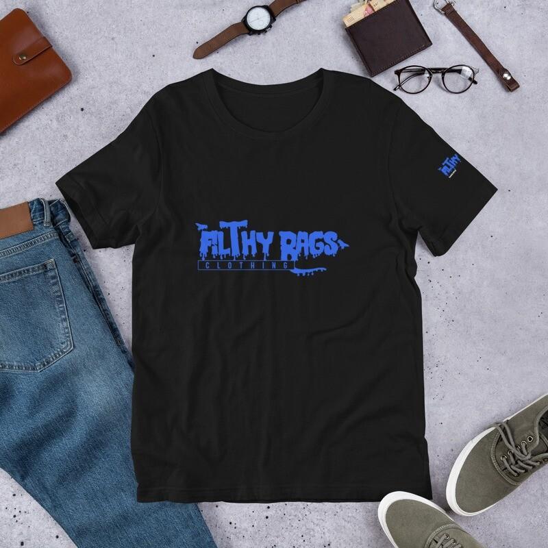 FILTHY RAGS /Blue/  T-Shirt