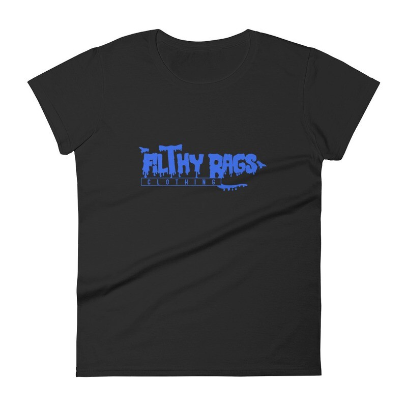 FILTHY RAGS /Blue/  Women's Fit T-Shirt