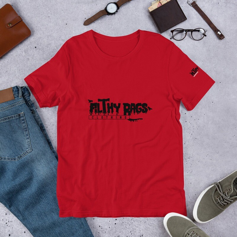 FILTHY RAGS /Red/  T-Shirt