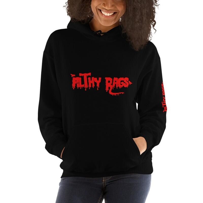 Filthy Rags Hoodie (Red)
