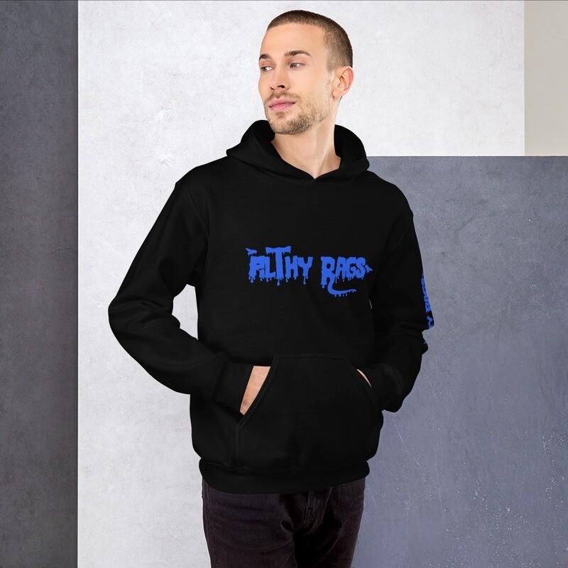 Filthy Rags Hoodie (Blue)