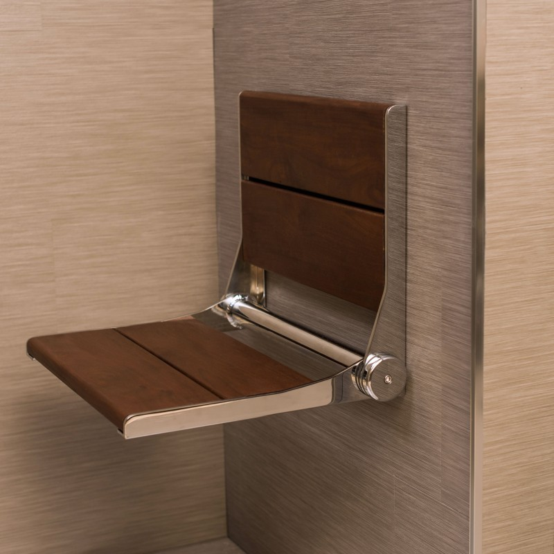 Shower Seat Wall Mounted Shower Seat 18""