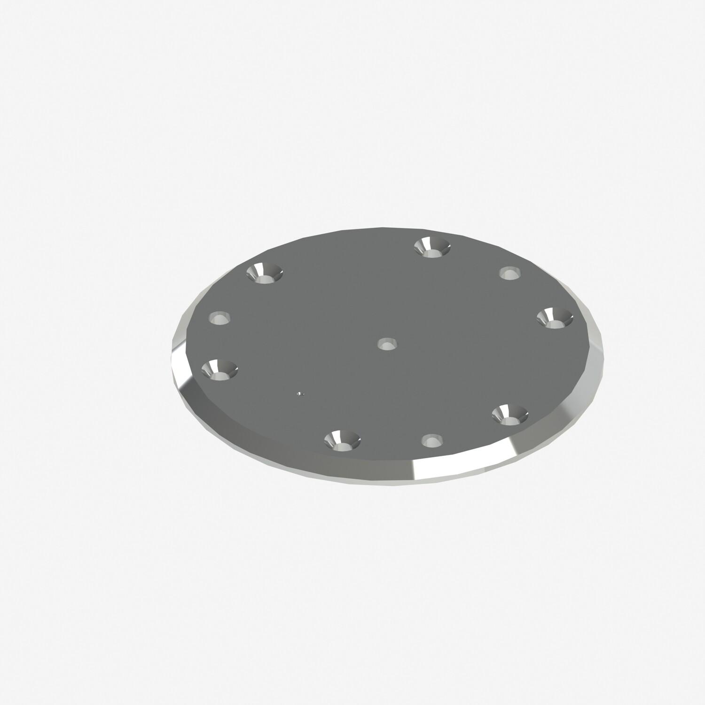 Advantage Rail Portable Floor Plate