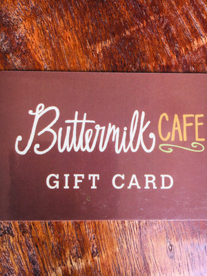 Buttermilk Cafe Gift Card