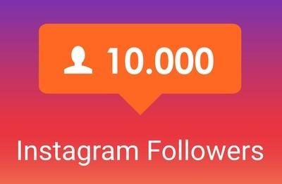 10.000 Followers Instagram