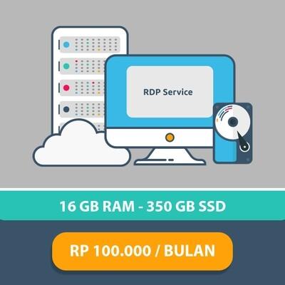 RDP 2 CORE RAM 1GB