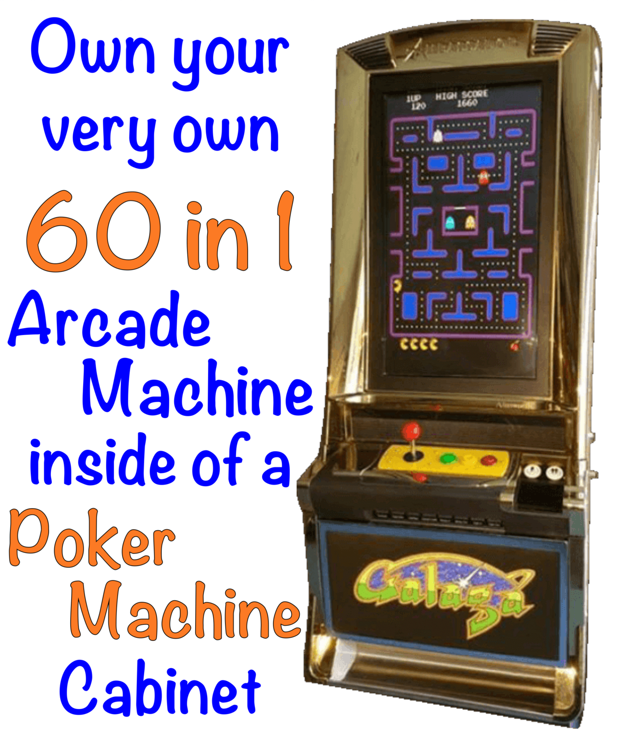 Arcade Poker Machine