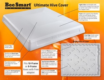 10-Frame Bee Smart Ultimate Hive cover 10FBS-UHC
