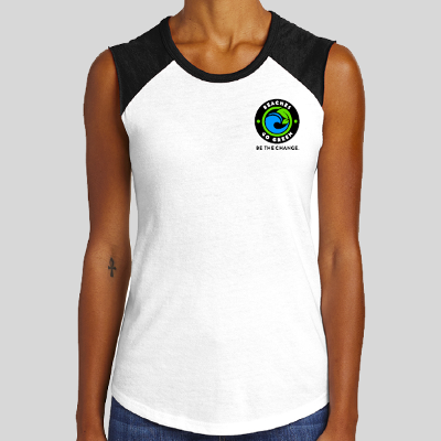 BGG Logo Sleeveless T-Shirt | Women's WHITE