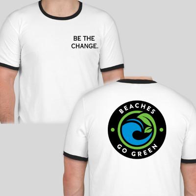 Ringer BGG logo T-shirt | Men's WHITE
