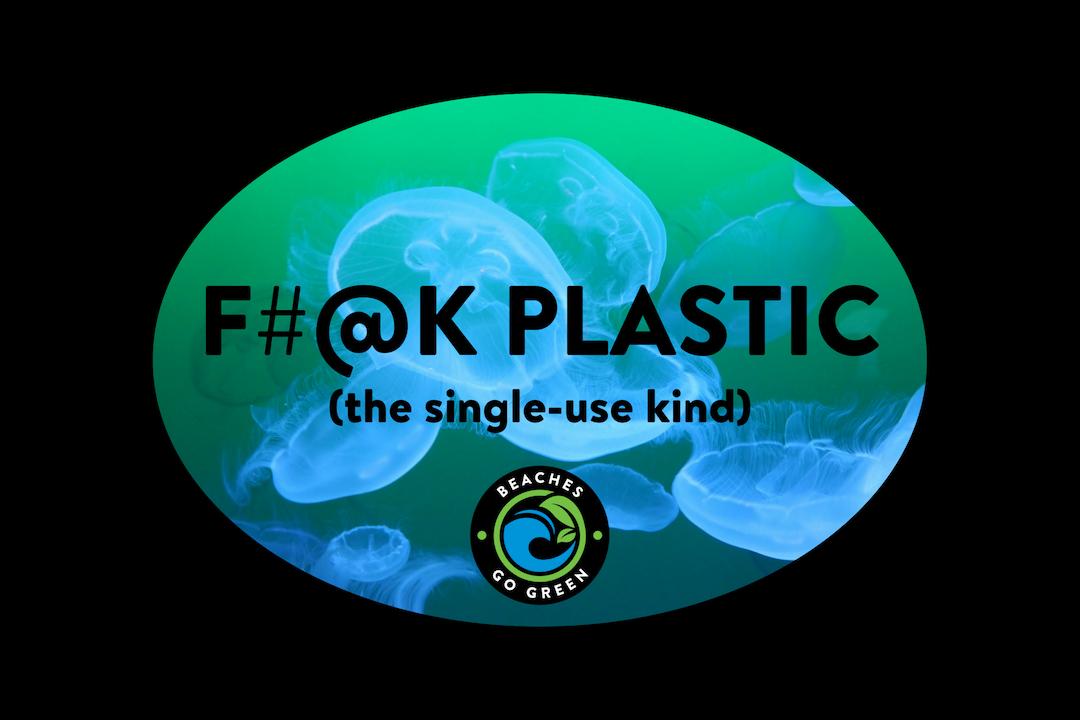 F#@K Plastic Sticker