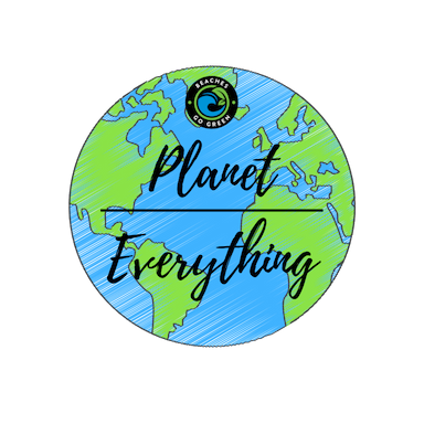 Planet Over Everything Sticker