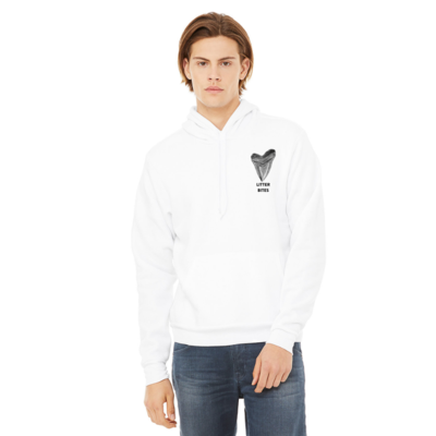 Litter Bites Pullover White Sweatshirt
