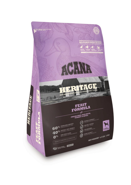 Acana Heritage  Feast 4.5lb