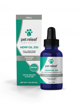 Pet Releaf Hemp Oil 330