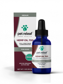 Pet Releaf Hemp Oil 700