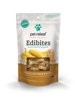 Pet Releaf Hemp Edibites Peanut Butter & Banana