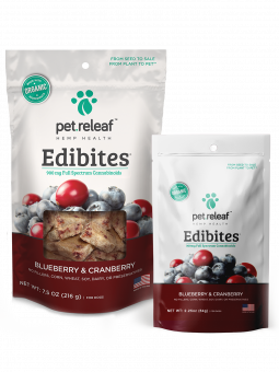 Pet Releaf Trial Size Blueberry & Cranberry