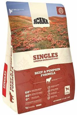 Acana Singles Beef & Pumpkin 4.5lb