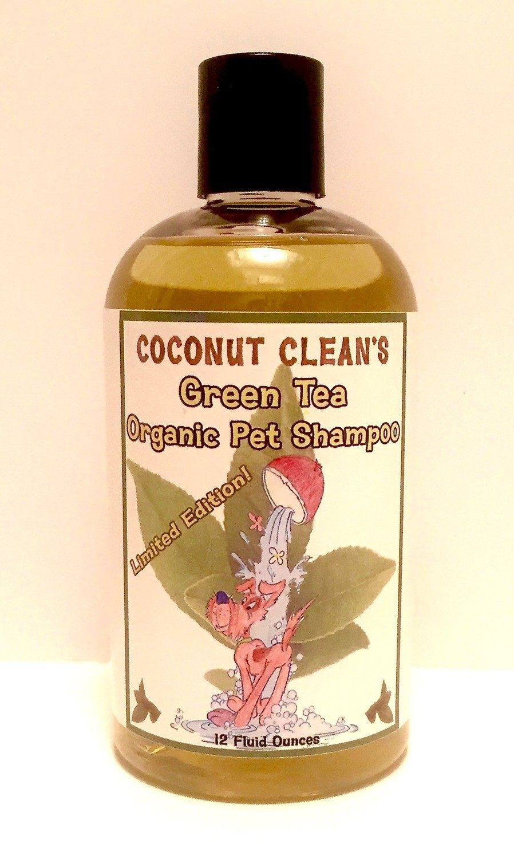 Coconut Clean's Green Tea Shampoo