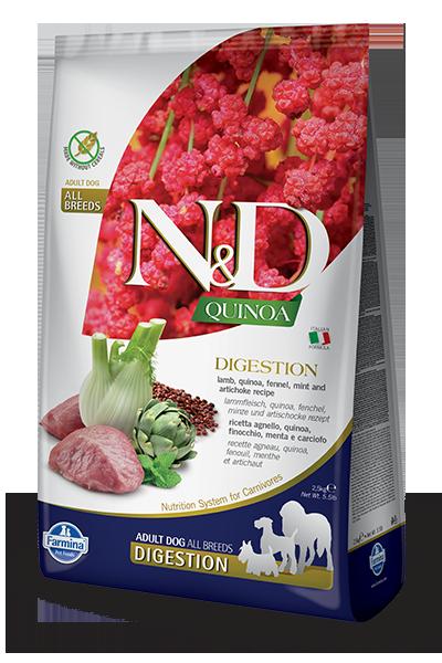 Farmina Dog LID Quinoa 15.4lb Digestion/Lamb