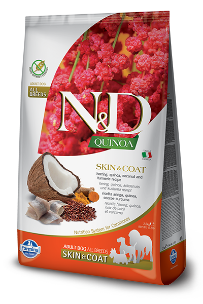 Farmina Dog LID Quinoa 15.4lb Skin & Coat/Herring