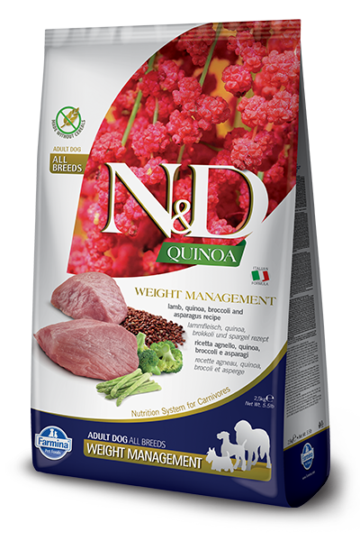 Farmina Dog LID Quinoa 5.5lb Weight Mgmt/Lamb