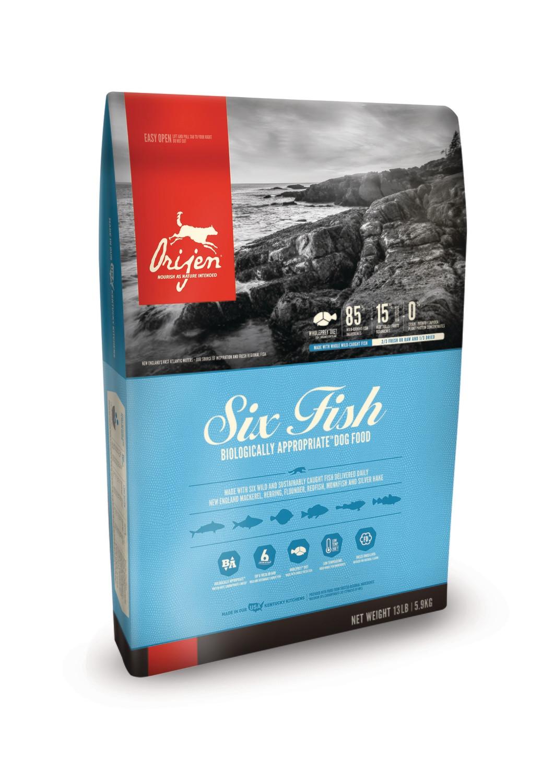 Orijen Six Fish 4.5lb