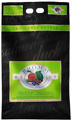 Fromm 4 Star Surf & Turf Cat Food 15lb