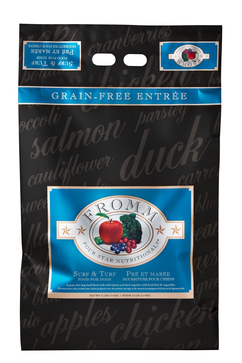 Fromm 4 Star Surf & Turf Dog Food 12lb