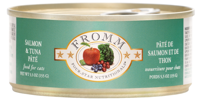 Fromm Four Star Pate Salmon & Tuna
