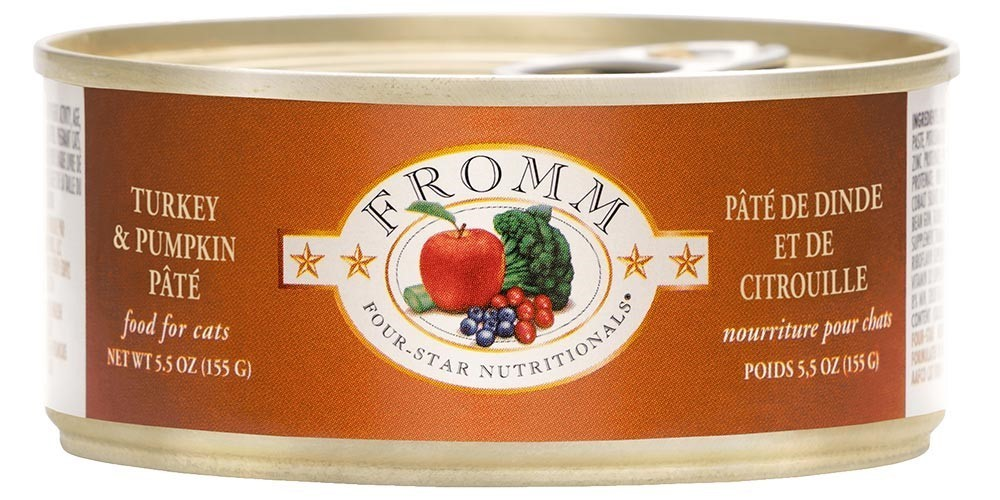 Fromm Four Star Pate Turkey & Pumpkin